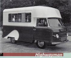 Commer Highwayman Camper nice vans http://www.motorhome-travels.co.uk/