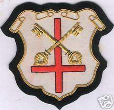 Christian Church Catholic Saint Symbol Peter Vestment Embroidery Applique Patch | eBay