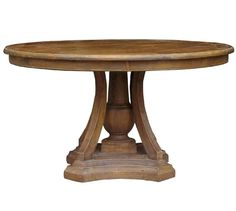 French Country Reclaimed Round Table $1398 http://charlotteandivy.com/french-country-reclaimed-round-table-new