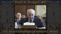 Peter R. Breggin, MD video testifying in front of Congress about Antidepressants causing violence and Suicide