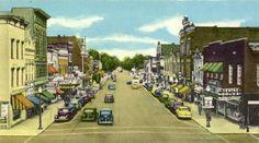 WOOD COUNTY - Ohio Genealogy Trails - Main Street, Bowling Green, Ohio