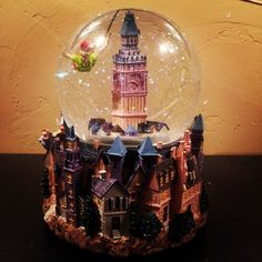 Peter pan snow globe