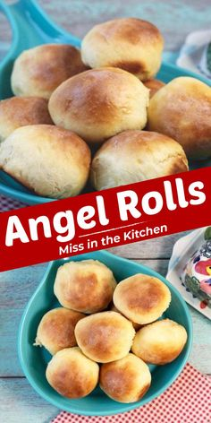 Light and fluffy Angel Rolls are the perfect addition to family dinners and holiday meals. A simple dinner roll recipe that anyone can make! Angel Rolls Recipe, Dinner Rolls Recipe, Roll Recipe, Cooking Bread, Bread Baking, Holiday Meals, Holiday Recipes, Freshly Baked, Allrecipes