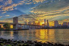 Manhattan Sunset   Flickr - Photo Sharing! U.S.A.  AMÉRIQUE DU NORD