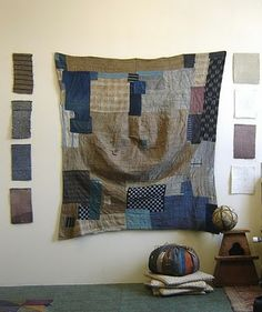 boro quilts...love this :)