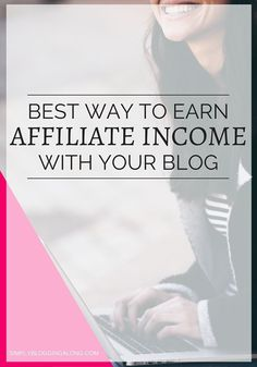 Having trouble monetizing your blog? Find out the best way to earn money with affiliate marketing so that you can make money while you sleep.:
