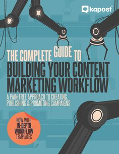 If you want to produce a steady stream of content, you need a workflow that works.  In this guide, you'll learn how to:  Streamline approvals and tasks Strategically repurpose existing content Identify and assign roles and channels What you'll get:  Step-by-step workflow templates for the most common content types Overview of key content marketing tools Project management hacks to increase efficiency