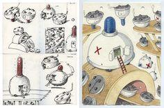 https://flic.kr/p/P68cFh | Ambliance | Ink,pencil, watercolour A4 size