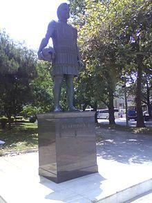 Statue of Philip II of Macedon in Thessaloniki, capital of the region of Macedonia, Greece. @Wikipedia.org