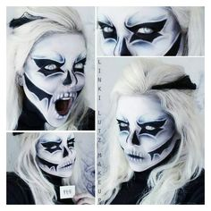 Halloween costumes for Wibke and Mich;) - Halloween costumes for Wibke and Mich; Yeux Halloween, Looks Halloween, Halloween Zombie, Halloween Cosplay, Halloween Costumes, Halloween Face Makeup, Creepy Costumes, Halloween Hair, Vintage Halloween