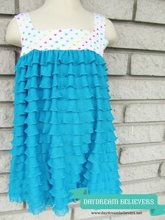 Daydream Believers: Tutorial: Make a Ruffle Swimsuit Cover