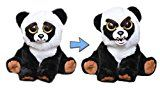 William Mark Feisty Pets Black Belt Bobby Plush Adorable Plush Stuffed Panda that Turns Feisty with a Squeeze by William Mark