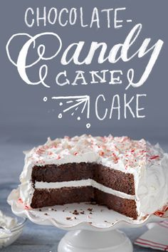 Candy meets cake and it feels so good. Try our delicious Chocolate-Candy Cane Cake for your next holiday gathering.