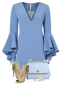 """A Blue Christmas"" by houston555-396 ❤ liked on Polyvore featuring Milly, Burberry, Ross-Simons, Dolce&Gabbana, MIANSAI and Lord & Taylor"
