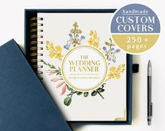 One of our designs from our Signature line of Notable Planners by The Planner Emporium. Customizable wedding planners and momento books. Find it now at http://ift.tt/2t2Kfwf!