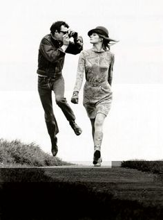 Life is cushty just bopping and clickin with helmut newton
