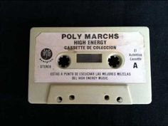 Polymarchs 5to aniversario High Energy by Tony Barrera Cassette, High Energy, Youtube, Youtubers, Youtube Movies