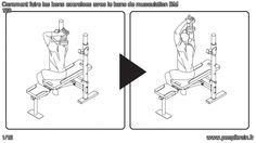 Comment faire les bons exercices avec le banc de musculation BM 120? Le guide complet : http://www.peoplbrain.fr/tutoriaux/sport/faire-les-bons-exercices-avec-le-banc-de-musculation-bm-120