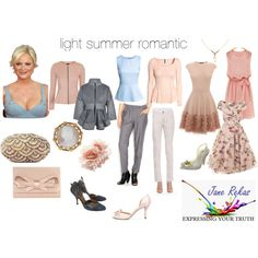"""""""light summer romantic"""" by expressingyourtruth on Polyvore"""