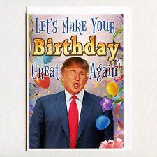 Donald Trump Birthday Card Girlfriend Boyfriend by GraphicDetail Donald Trump Happy Birthday, Happy Birthday Brother Funny, Funny Happy Birthday Greetings, Trump Birthday, Happy Birthday Quotes, Funny Birthday Cards, Birthday Greeting Cards, Card Birthday, Birthday Wishes