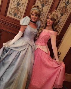 Aurora and Cinderella