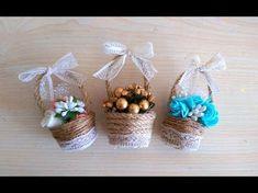 Making Wedding Candy From Egg Carton-Yumurta Kolisinden Nikah Şekeri Yapılışı - YouTube