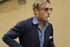 The Pursuit Aesthetic #Blazer #Azul #Marino #Oscuro