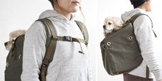 Flavor X Porter Dog Ruck – a backpack carrier for your Dog via http://www.pupstyle.com/author/jon