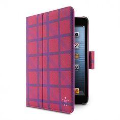 Belkin Tartan Cover with Stand for iPad mini Purple $59.99 at zenwer.com