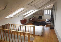 Spitzboden spitzboden pinterest dachboden dachausbau und dachgeschosse - Dachzimmer ausbauen ...