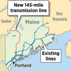 Mills throws her support behind CMP's controversial plan for transmission line - Portland Press Herald Portland Press Herald, Car Charging Stations, Electric Utility, University Of Maine, Transmission Line, Executive Branch, Fiber Optic Cable, Energy Projects