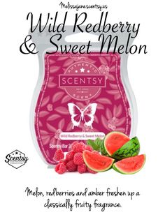 Scentsy 2016 | Wild Redberry & Sweet Melon | New release | Fall & Winter…