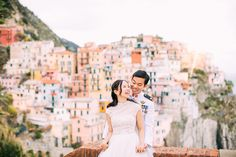 Cinque Terre pre wedding shoot Manarola in Italy