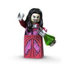Lego Monster Fighters VAMPYRE'S BRIDE (Glow In The Dark Head!)