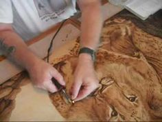The Burned Art of Steven Hawkes Pyrography - MUST SEE! Wildlife Edition! - YouTube