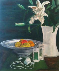 Still Life - oil on canvas 50x40cm.