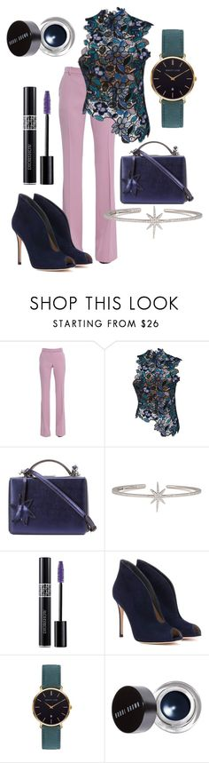 """""""Work Flow Vibes"""" by josie-land ❤ liked on Polyvore featuring Alexander McQueen, self-portrait, Mark Cross, APM Monaco, Christian Dior, Gianvito Rossi, Abbott Lyon and Bobbi Brown Cosmetics"""
