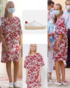 Hugo Boss, Spanish Royal Family, Queen Letizia, Vulnerability, The Neighbourhood, Royalty, Kimono Top, Girls Dresses, Daughter