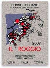 Il Roggio - Rosso Toscano - Torraccia di Presura #naming #design #vino #wine #packaging