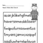 Popcorn Words Activities set 2 for Centers and Word Work. Sight word word search! $10 for all activities