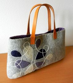 felt bag/cool & gray-blue                                                                                                                                                      More