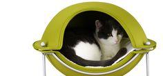 Green Hepper Pod Cat Bed