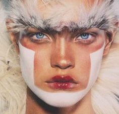@Jakob Virgil Natalia Vodianova~ your eyebrow fantasy.