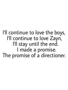 Only true directioners