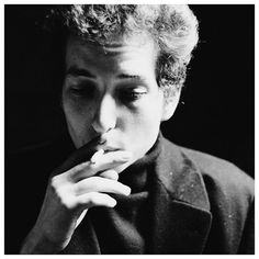 """Bob Dylan // """"I just don't hear anyone else making the music I'm making in my head, so I'll have to do it myself. Bob Dylan Quotes, The Beatles, Mists, Black And White, Bobby, Singers, Smoke, Animal, Black N White"""