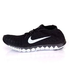 new product 5e092 08804 Nike Free Flyknit 3.0 SP Training Shoes For Men Black Cement Grey 688507-090