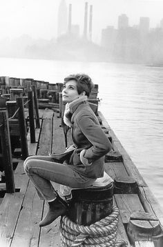 Audrey Hepburn photographed by Howell Conant during the filming ofWait Until Dark, 1967.