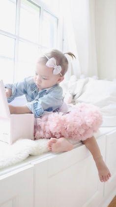 The softest ruffles in our dusty pink 'Beau' tutu. www.prettypetite.com.au