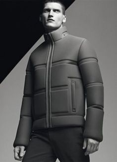 future fashion, futuristic look, future style, man, jacket, man model by FuturisticNews.com: