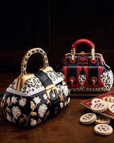 "Ceramic ""Handbag"" Cookie Jar"